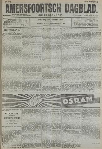 Amersfoortsch Dagblad / De Eemlander 1917-01-30
