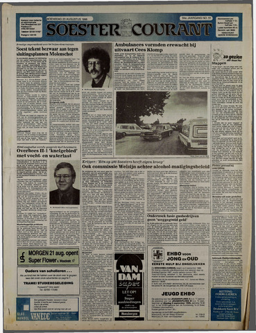 Soester Courant 1986-08-20