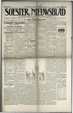 Soester Courant 1923-09-08