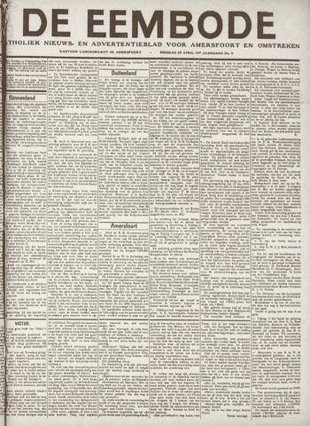 De Eembode 1919-04-29