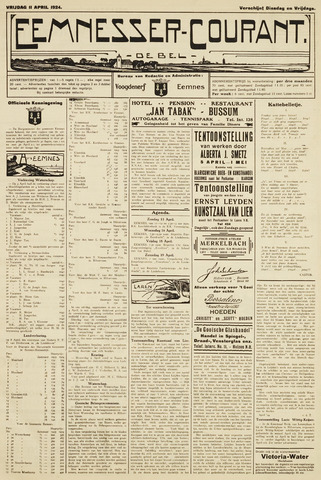 Eemnesser Courant 1924-04-11