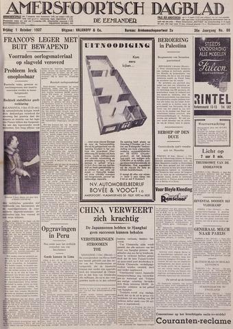 Amersfoortsch Dagblad / De Eemlander 1937-10-01