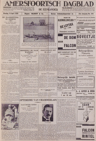 Amersfoortsch Dagblad / De Eemlander 1935-04-16