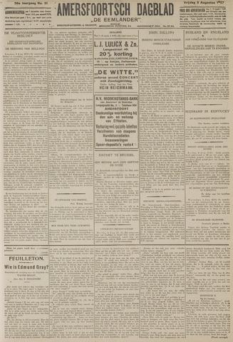 Amersfoortsch Dagblad / De Eemlander 1927-08-05