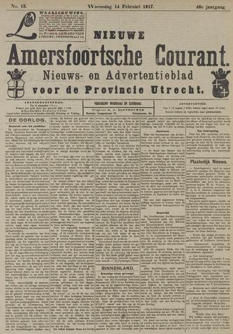 Nieuwe Amersfoortsche Courant 1917-02-14