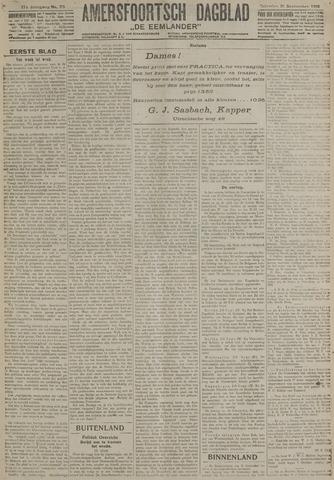 Amersfoortsch Dagblad / De Eemlander 1918-09-21