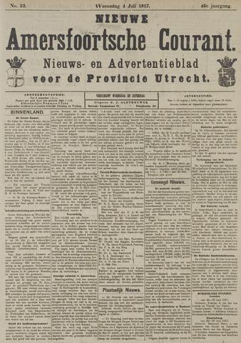 Nieuwe Amersfoortsche Courant 1917-07-04