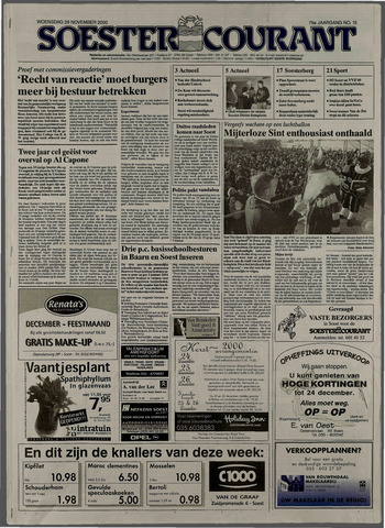 Soester Courant 2000-11-29