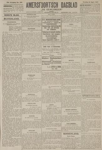 Amersfoortsch Dagblad / De Eemlander 1927-04-22