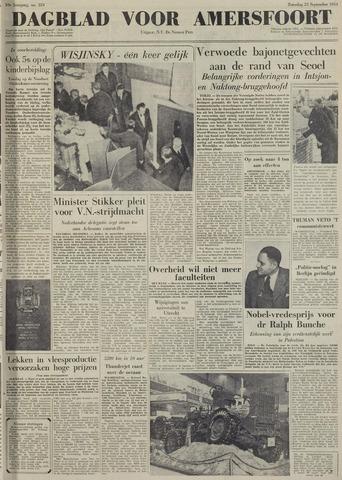 Dagblad voor Amersfoort 1950-09-23