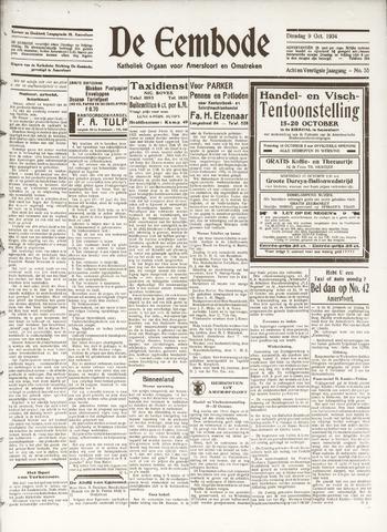 De Eembode 1934-10-09