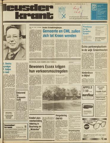 Leusder Krant 1982-10-28