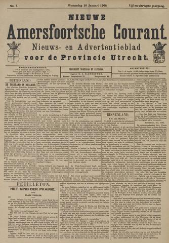 Nieuwe Amersfoortsche Courant 1906-01-10