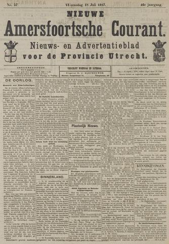 Nieuwe Amersfoortsche Courant 1917-07-18
