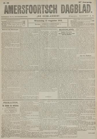 Amersfoortsch Dagblad / De Eemlander 1913-08-13