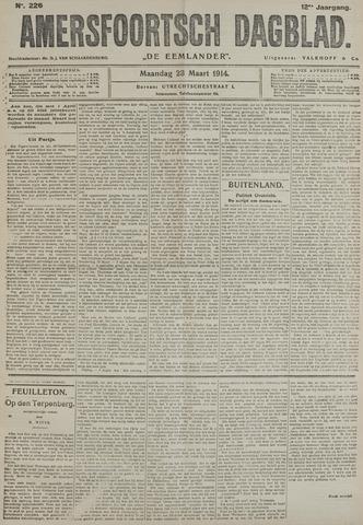 Amersfoortsch Dagblad / De Eemlander 1914-03-23