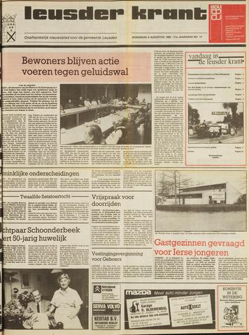 Leusder Krant 1989-08-09