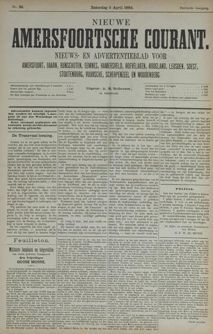 Nieuwe Amersfoortsche Courant 1884-04-05
