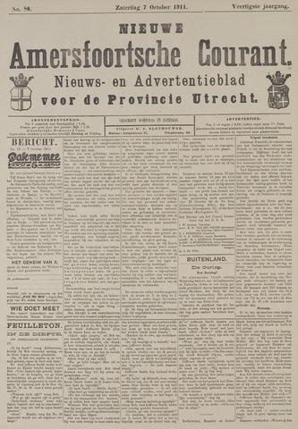 Nieuwe Amersfoortsche Courant 1911-10-07