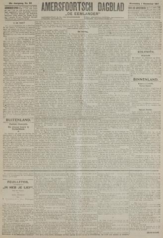 Amersfoortsch Dagblad / De Eemlander 1917-11-07