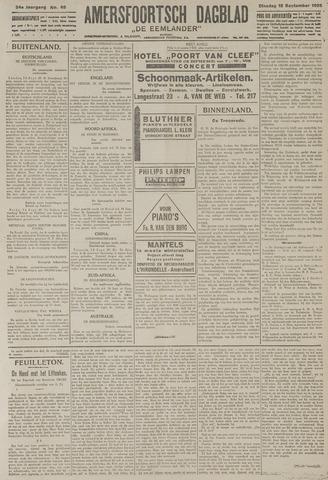 Amersfoortsch Dagblad / De Eemlander 1925-09-15