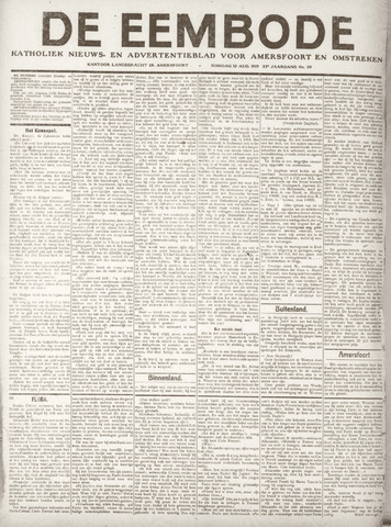 De Eembode 1919-08-12