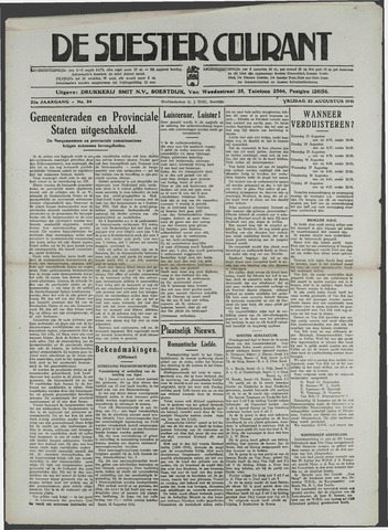 Soester Courant 1941-08-22