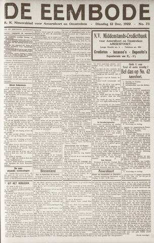 De Eembode 1922-12-12