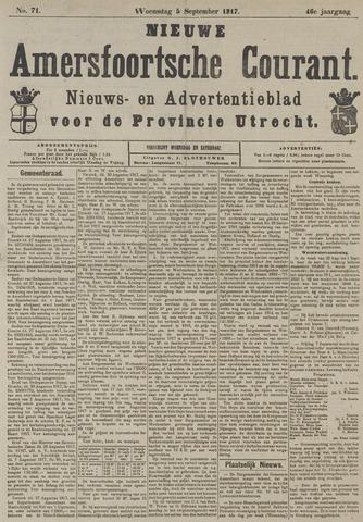 Nieuwe Amersfoortsche Courant 1917-09-05