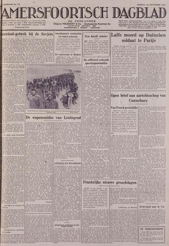 Amersfoortsch Dagblad / De Eemlander 1941-09-23