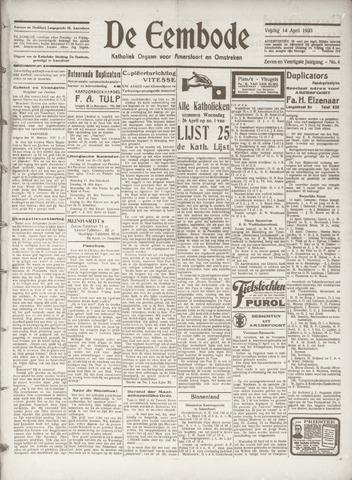 De Eembode 1933-04-14