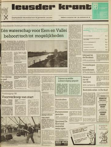 Leusder Krant 1988-08-09