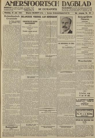Amersfoortsch Dagblad / De Eemlander 1932-06-22