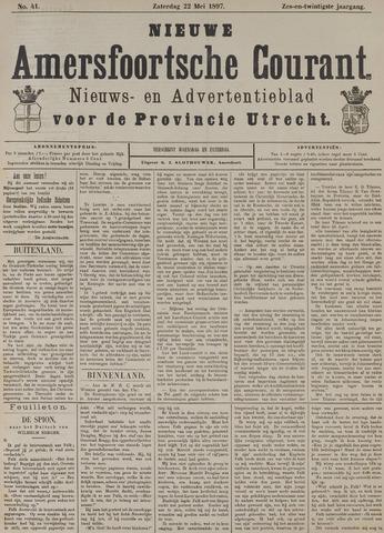 Nieuwe Amersfoortsche Courant 1897-05-22