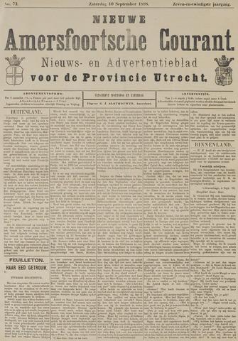Nieuwe Amersfoortsche Courant 1898-09-10
