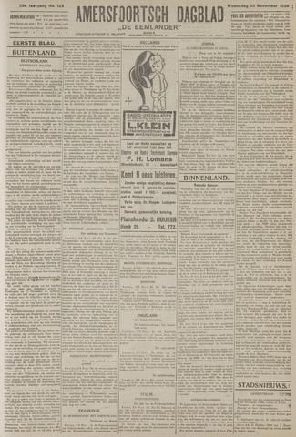Amersfoortsch Dagblad / De Eemlander 1926-11-24