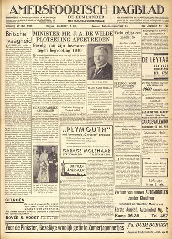 Amersfoortsch Dagblad / De Eemlander 1939-05-20