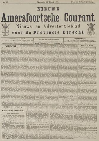 Nieuwe Amersfoortsche Courant 1903-03-25