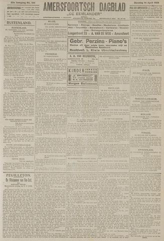 Amersfoortsch Dagblad / De Eemlander 1925-04-14