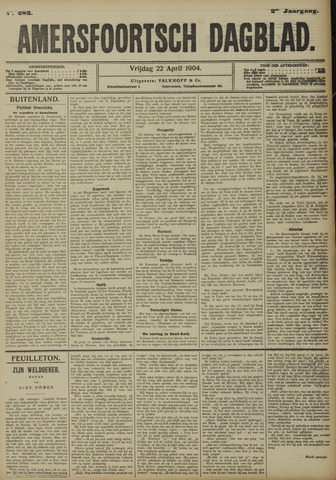 Amersfoortsch Dagblad 1904-04-22
