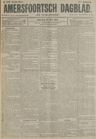 Amersfoortsch Dagblad / De Eemlander 1916-05-20