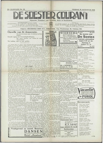 Soester Courant 1934-08-10