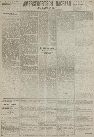 Amersfoortsch Dagblad / De Eemlander 1917-11-29