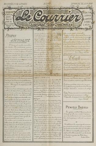 Le Courrier 1918-06-30