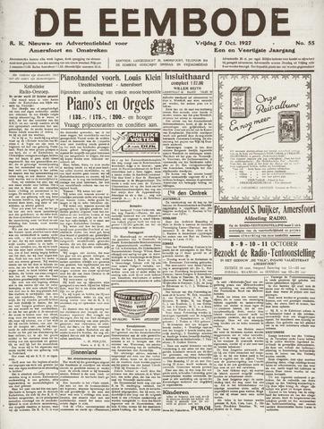 De Eembode 1927-10-07