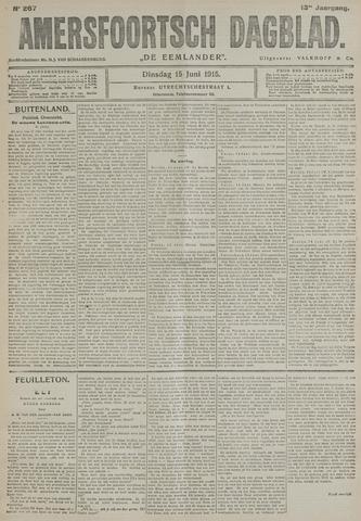 Amersfoortsch Dagblad / De Eemlander 1915-06-15
