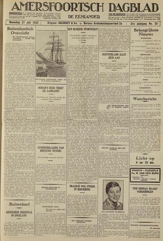 Amersfoortsch Dagblad / De Eemlander 1932-07-27