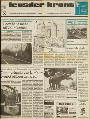 Leusder Krant 1989-08-23