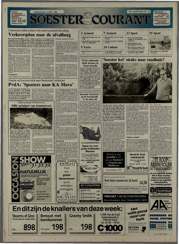 Soester Courant 1992-05-13