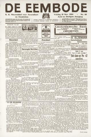 De Eembode 1924-11-21